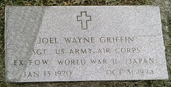 SGT Joel Wayne Griffin Sr.