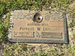 Phyllis Fuller <I>Wessman</I> Loflin