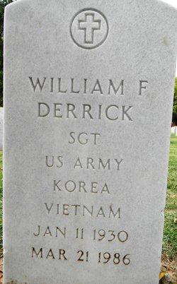 William F Derrick