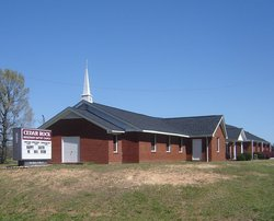 Cedar Rock Baptist Church Cemetery