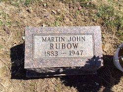 Martin John Rubow