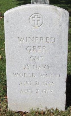 Winfred Geer