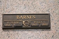 "Oscar Slade ""Pop"" Barnes"