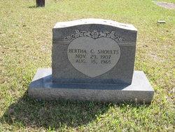 Bertha <I>Collier</I> Shoults
