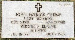 John Patrick Crume