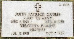 Virginia Elaine Crume