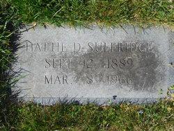 Hattie D. Sulfridge