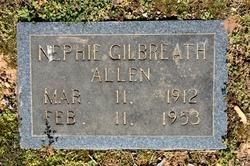Nephie Gilbreath Allen