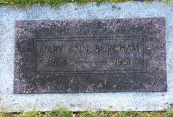 Mary Ann <I>Knight</I> Burcham