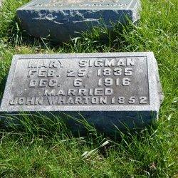 Mary Jane <I>Sigman</I> Wharton