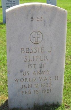 Bessie J Slifer