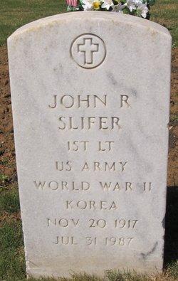 John R Slifer