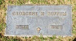 Georgene May <I>Hintz</I> Buffum