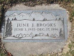 June J <I>houghtaling</I> Brooks