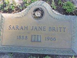 Sara Jane <I>Jenny</I> Britt