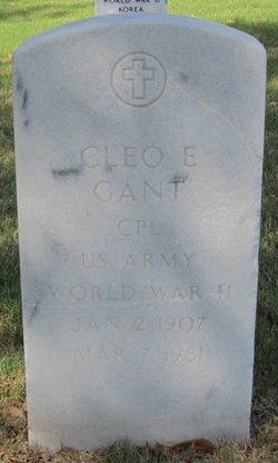 Cleo E Gant