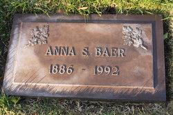 Anna Sophie <I>Dressel</I> Baer