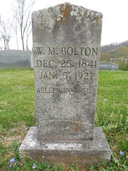 William M Bolton