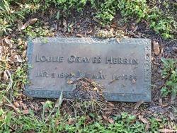 Loulie <I>Graves</I> Herrin
