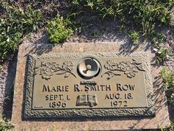 Marie Robertson <I>Smith</I> Row