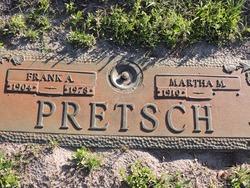 Martha M Pretsch