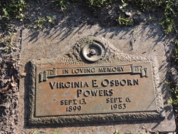 Virginia E <I>Osborn</I> Powers