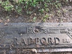 """Gwendlyn Estelle """"Trudy"""" <I>Merrill</I> Radford"""