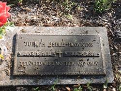 Judith <I>Peele</I> Hawkins