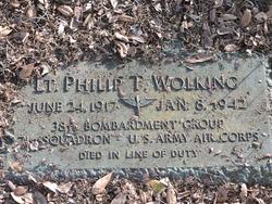 """LT Philip Theodore """"Phil"""" Wolking"""