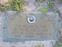 Ruth <I>Rowe</I> Boies
