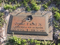 Gerard F King, Jr.