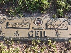 Frances <I>Bazzle</I> Geil