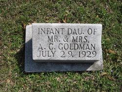 Infant Daughter Goldman