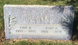 Faye Roosevelt Franke