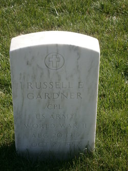 Russell E Gardner