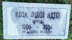 """Rosa """"Sweetie"""" <I>Dunn</I> Artis"""