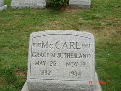 Grace May <I>Sutherland</I> McCarl