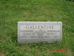 Nettie C. Gallentine