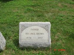 Rev Paul Brown