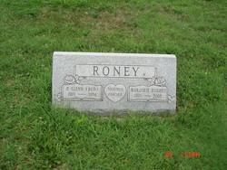 """P Glenn """"Bud"""" Roney"""