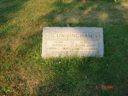 Nettie <I>Knapp</I> Cunningham