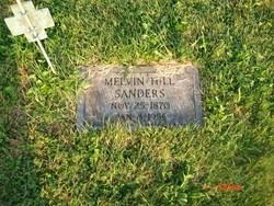 Melvin Hill Sanders