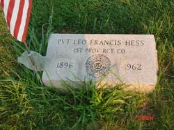 Pvt Leo Francis Hess