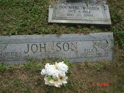 Ella <I>Boone</I> Johnson