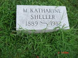 M Katharine Sheller