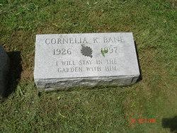 Cornelia K Bane