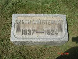 Sarah Ann <I>Alexander</I> Stewart