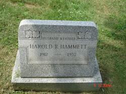 Harold R. Hammett