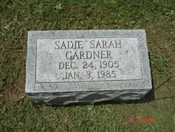 Sadie Sarah Gardner