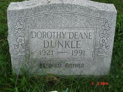 "Dorothy ""Deane"" Dunkle"